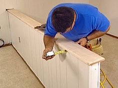 How To Install A Half Wall Top