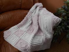 GIFT pattern for crocheted blanket by ColorandShapeDesign on Etsy, $5.00