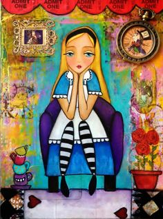 my version of Alice/ Ana Ferrer