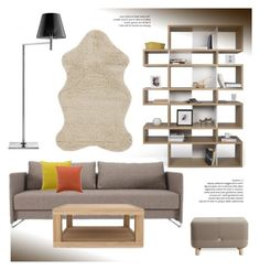 """Livingroom Decor"" by lovethesign-eu ❤ liked on Polyvore featuring interior, interiors, interior design, home, home decor, interior decorating, TemaHome, Da Terra, Normann Copenhagen and Vivaraise"