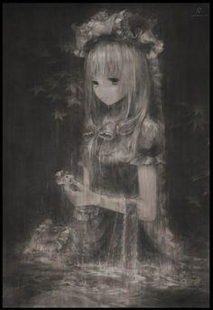 girl art anime