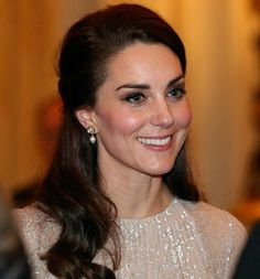 On February 27, 2017, Queen Elizabeth II and Prince Philip, Duke of Edinburgh, Prince William, Duchess Catherine of Cambridge and other members of the Royal Family, host a reception to mark the launch of the UK-India Year of Culture 2017. Duchess Catherine wore new Erdem silver dress . We saw the same dress on Crown Princess Mette Marit during her visit to Canadian Museum of History in Gatinueau on November 7th, 2016.