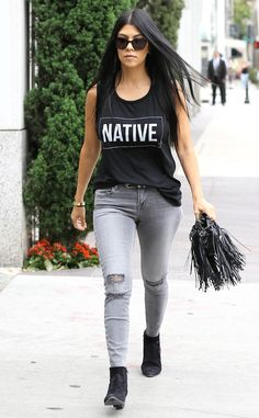 Here Are 9 Outfits Proving Kourtney Kardashian Is Sexier Than Ever After Splitting With Scott Disick! | E! Online Mobile