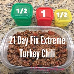 Dinner recipes, workout, insanity, 21 day fix,. 21 Day Fix Diet, 21 Day Fix Meal Plan, Healthy Snacks, Healthy Recipes, Chili Recipes, Turkey Recipes, Healthy Eating, Clean Recipes, Advocare Recipes