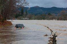 A car submerged near Ballater on the South Deeside Road, Aberdeen, Scotland Aberdeen Scotland, Newly Married, Darkness, Car, Life, Automobile, Cars, Autos