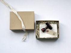 Antique 'Fig. 1' Wood Handle Natural Science Stamp