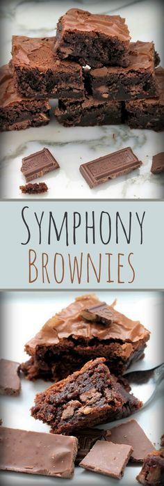 Symphony Bar Brownies , Recipe Treasures
