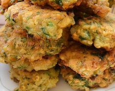 Bean Recipes, Greek Recipes, Finger Foods, Cauliflower, Food And Drink, Cooking Recipes, Vegetarian, Favorite Recipes, Kitchens