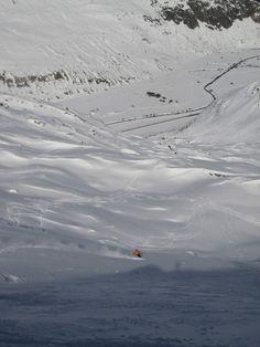 Andermatt - Gemsstock, Switzerland 27.02.2010   Powderlove