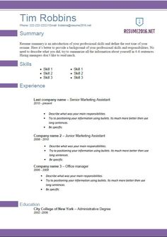 Resume Templates 2016 Which One Should You Choose Resume 2016