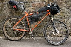 A bikepacking Surly Troll...