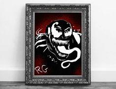 Check out this item in my Etsy shop https://www.etsy.com/ca/listing/485447183/venom-marvel-comics-original-artwork
