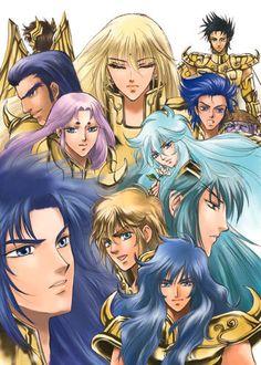 Saint Seiya - Gold Saints