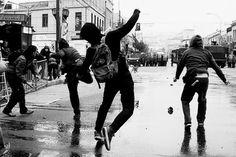 """The Marauders, fooling around in Hogsmeade Taken by Fabian Prewett, Autumn 1974 """
