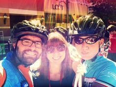 Three #CCL volunteers on Day 5, about to ride the home-stretch into #DC...
