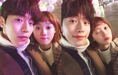 """Rumors have surfaced that Nam Joo-hyuk and Lee Sung-kyung might be dating, according to local media reports Monday. """"Nam Joo-hyuk and Lee Sung-kyung have been dating since they finished filming 'Weightlifting Fairy Kim Bok-joo,'"""" several reports said. Swag Couples, Cute Couples, Korean Celebrities, Korean Actors, Korean Dramas, Weightlifting Kim Bok Joo, Weighlifting Fairy Kim Bok Joo, Nam Joo Hyuk Lee Sung Kyung, Joon Hyung"""