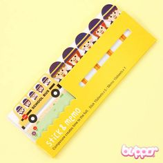 Kawaii Mix Note Stickers - Students