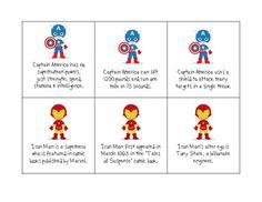 FREE Superhero Listening for Language: listening comprehension, paraphrasing, context clues, questions, summarizing