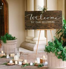 Wedding Magazine - 11 simply stunning sign ideas for your wedding ceremony venue