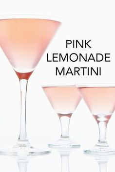 Think pink with this pink lemonade vodka martini, a cocktail made with lemonade, Limoncello, vodka and cranberry juice. Vodka Martini, Pink Drinks, Vodka Cocktails, Summer Drinks, Cocktail Drinks, Alcoholic Drinks, Martini Party, Pink Martini, Recipes