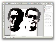 Use Stencilizer to make a photo a stencil to cut on my Silhouette