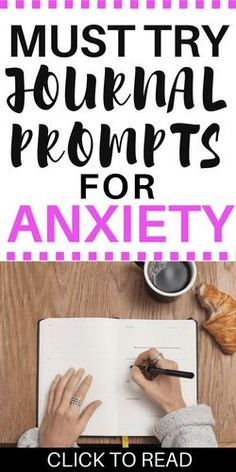 If you're struggling to manage your anxiety try out these journal prompts. I use journaling to help cope with anxiety and feel better. It's become a huge part of my self-care routine.  #selfcare #journalprompts #journaling #mentalhealth #anxiety #healthycoping