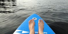 Plenty of room for #SUP on Lac La Peche in Gatineau Park this summer in Ottawa