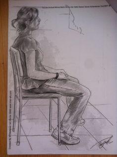 Güzel sanatlara hazırlık model çizimi #imgesel #model #resim #art #karakalem #gsf