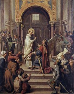 HISTOIRE ABRÉGÉE DE L'ÉGLISE - PAR M. LHOMOND – France - 1818 - DEUXIEME PARTIE ( Images et Cartes) Ffdfe77dcb11838784f161f871ce863b--saint-bernards-saints
