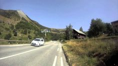 Unicycling the Alpe d'Huez Bends