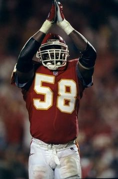 Derrick Thomas-RIP an excellent talent at OLB one time rendering 6 sacks by himself