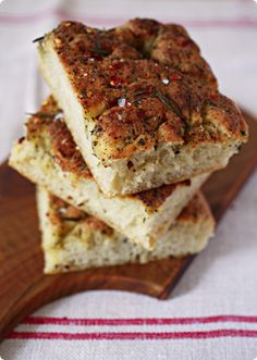 The Focaccia Phase (from The Traveler's Lunchbox, a very interesting blog with delicious recipes from around the world)