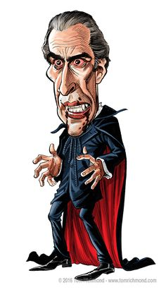 13 Days of Dracula- Christopher Lee!