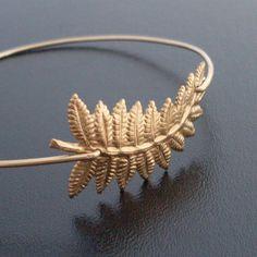 Autumn Fashion Autumn Bracelet Fern Bracelet Fall por FrostedWillow, $16.50
