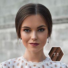 Haarverf as donkerblond haarkleur voor een mooie, koele as donkerblonde haarkleur Waterproof Eyebrow, Eyebrows, Hair, Color, Products, Fashion, Moda, Eye Brows, Fashion Styles