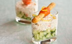Mini appetizers for wedding or event