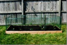 I would make mine more narrow to go along the fence line, but I like the little fencing to help keep animals out of...