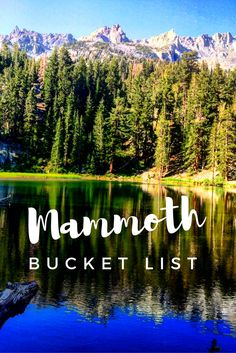 Mammoth Lakes, California, USA