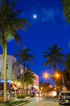 Miami Beach - So wanna go- constant gorgeous weather and parties!