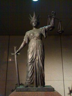 Themis (Greek) - sat at the right hand of Zeus - Divine Justice