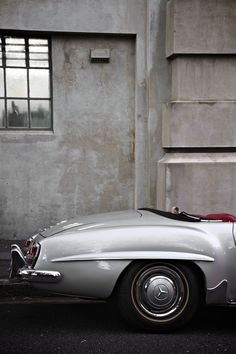 Mercedes Benz #190SL by photographer Houman Katuzi. Source: http://500px.com/photo/1396468. For all your Mercedes Benz 190SL restoration needs please visit us http://www.bruceadams190sl.com/