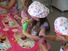 Cupcake Decorating Party Birthday Party Ideas   Photo 3 of 21   Catch My Party Baking Birthday Parties, Baking Party, Tea Party Birthday, Cupcake Birthday, Paris Birthday, Birthday Ideas, Cupcake Wars Party, Cupcake Decorating Party, Party Cupcakes