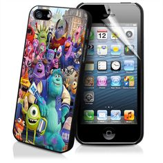 MONSTER INC UNIVERSITY for iPhone 4/4s/5/5s/5c, Samsung Galaxy s3/s4 case