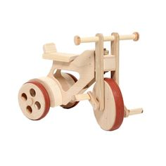 Wooden Tricycle - Montana. Made in Czech Republic.