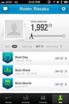 Nike Fuel Band Profile