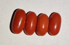 Excellent Red Coral {Moonga} |Natural hand Polished Gemstone |Red Coral Cab Oval Deep Red Color, all 4 piece 15 carat for making jewelry by IndianAccurateGems on Etsy Meyou, Gemstones For Sale, Deep Red Color, Red Coral, Dark Red, Gemstone Rings, Jewelry Making, Polish, Pure Products