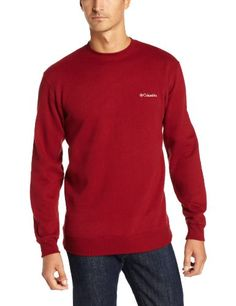 Columbia Mens Hart II Crew Sweatshirt Red Element Small *** Click image for more details. This is an Amazon Affiliate links.
