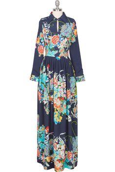 Dahlia Maxi Dress - Floral