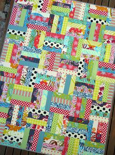 use up some of my scrap strips?