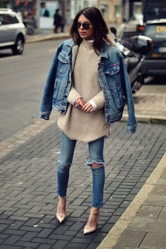 Джинсовая куртка: самые стильные фото